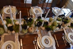 Haunted Halloween Cameo Tablescape