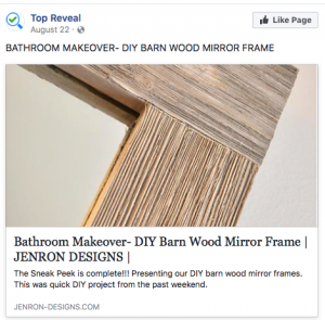 """... for """"27 Fun DIY Bandsaw Projects You Can Start Today"""", and was chosen to be featured at Top Reveal on """"2017's Top 17 DIY Woodworking Projects ANYONE Can ..."""