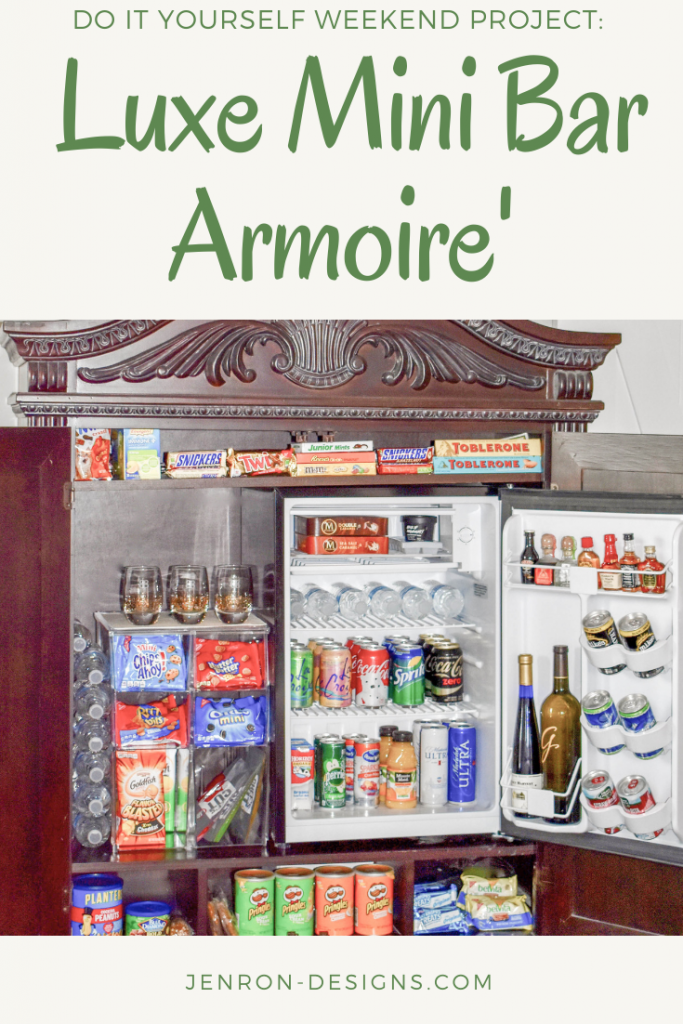 MIni Bar Armoire' JENRON DESIGNS