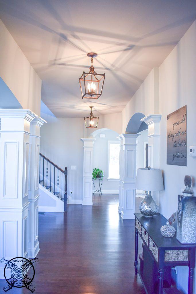 Farmhouse Hallway Lanterns JENRON DESIGNS