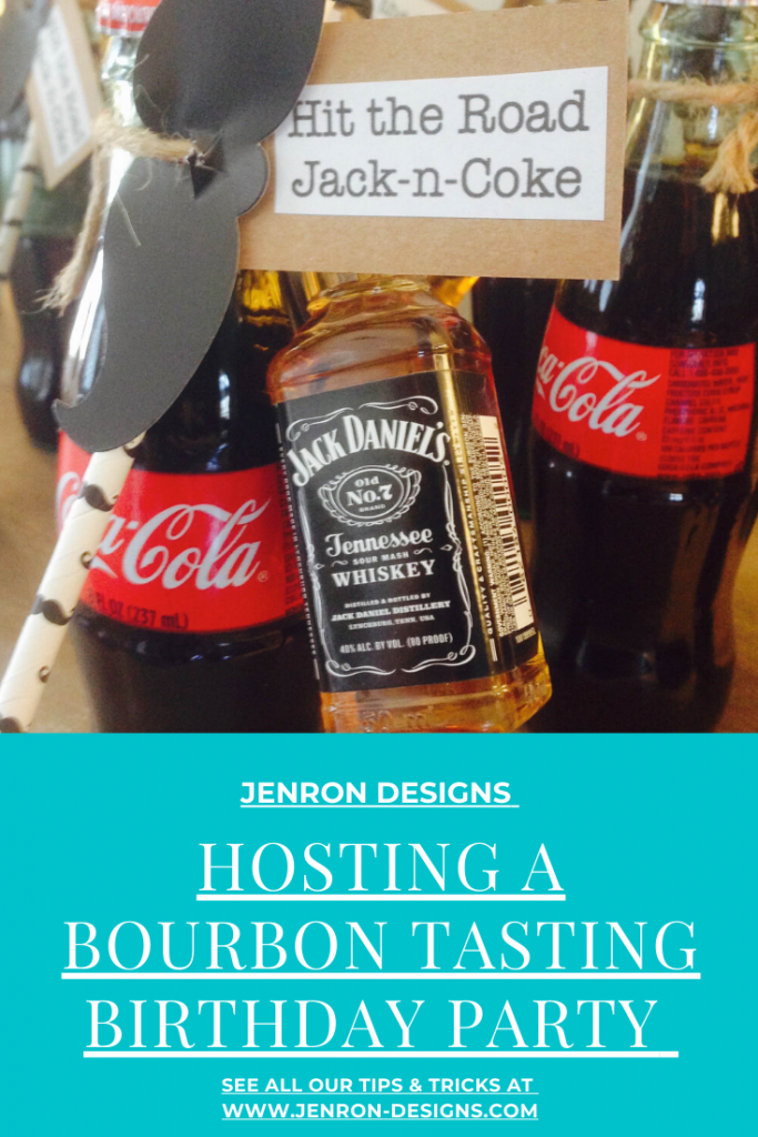 Whiskey Tasting Party JENRON DESIGNS