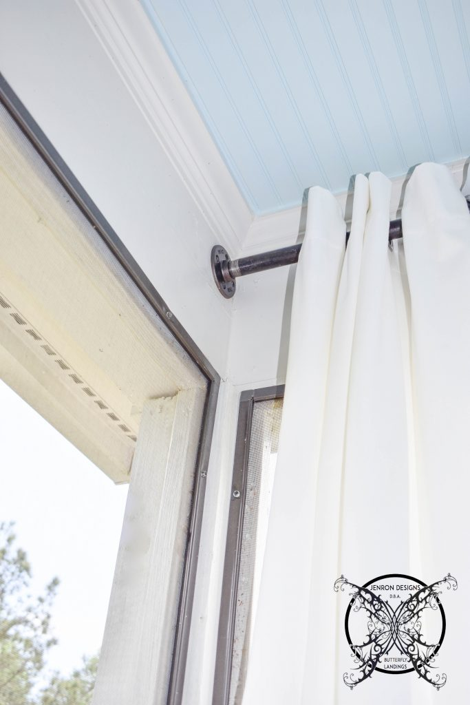 Draperies On Porch JENRON DESIGNS