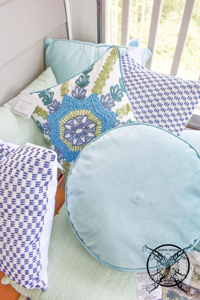 Sleeping Porch Pillows JENRON DESIGNS