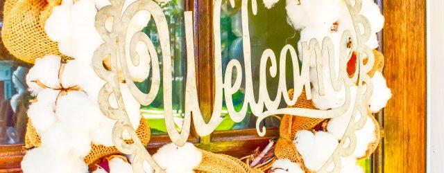 Cotton Bole Wreath JENRON DESIGNS