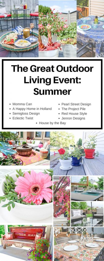 Pin for Outdoor Blog Hop JENRON DESIGN