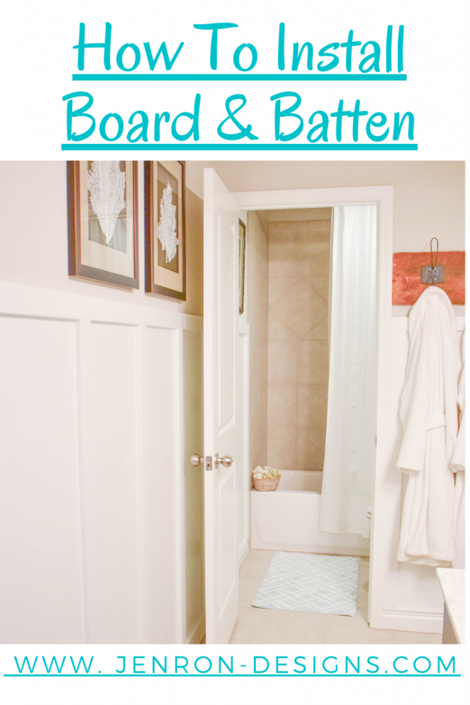 How To Install Board & Batten JENRON DESIGNS