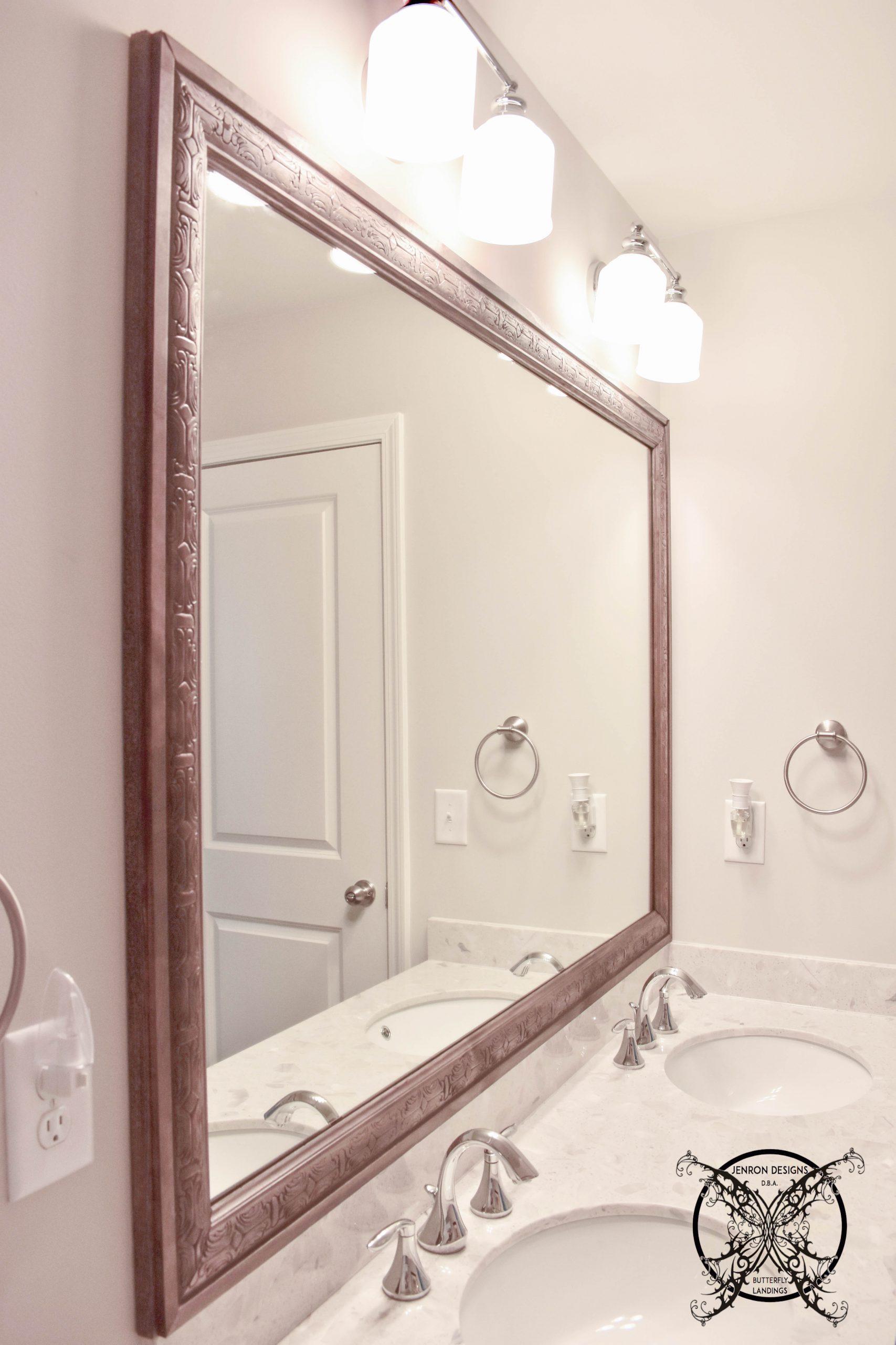 Mirror Frame Completion JENRON DESIGNS
