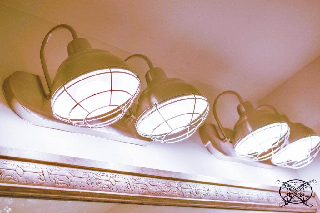 INSTALLING A VANITY Light JENRON DESIGNS