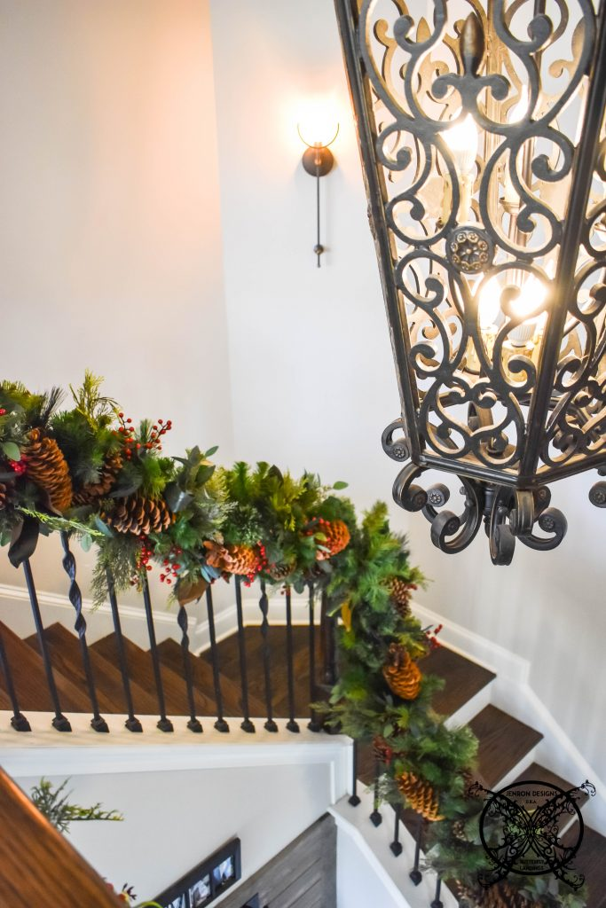 Holiday Staircase JENRON DESIGNS