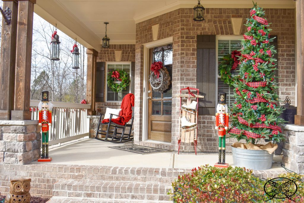Home for The Holidays Front Porch JENRON DESIGNS