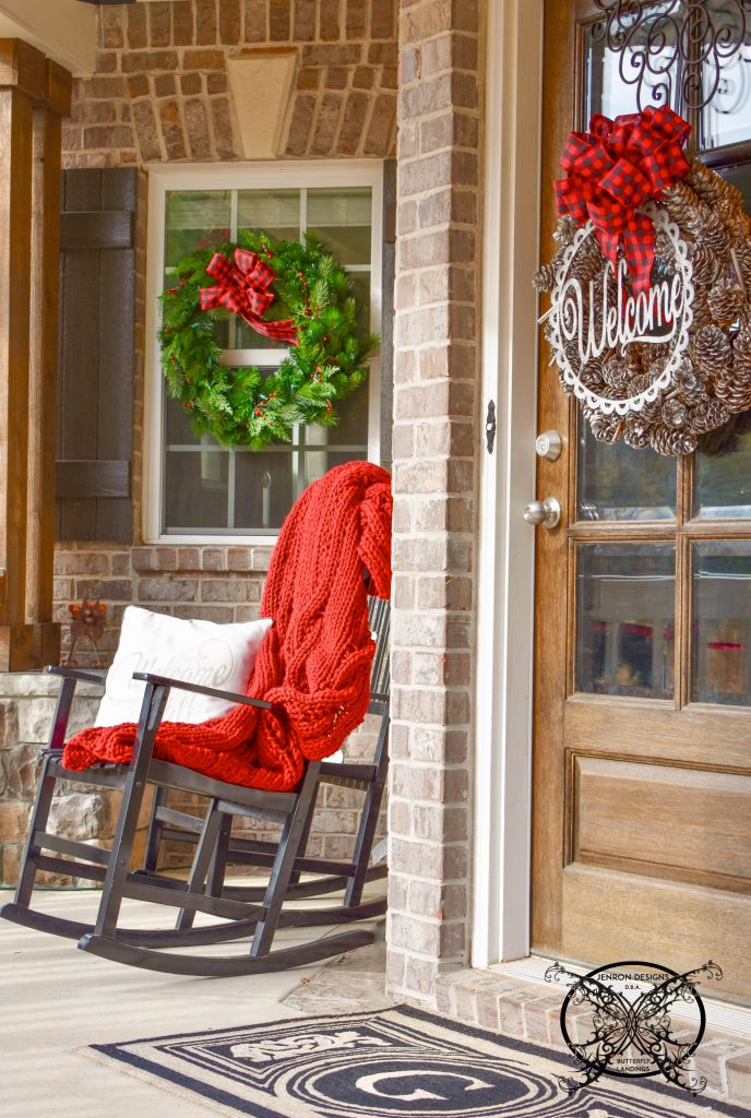 Home for The Holidays Porch JENRON DESIGNS