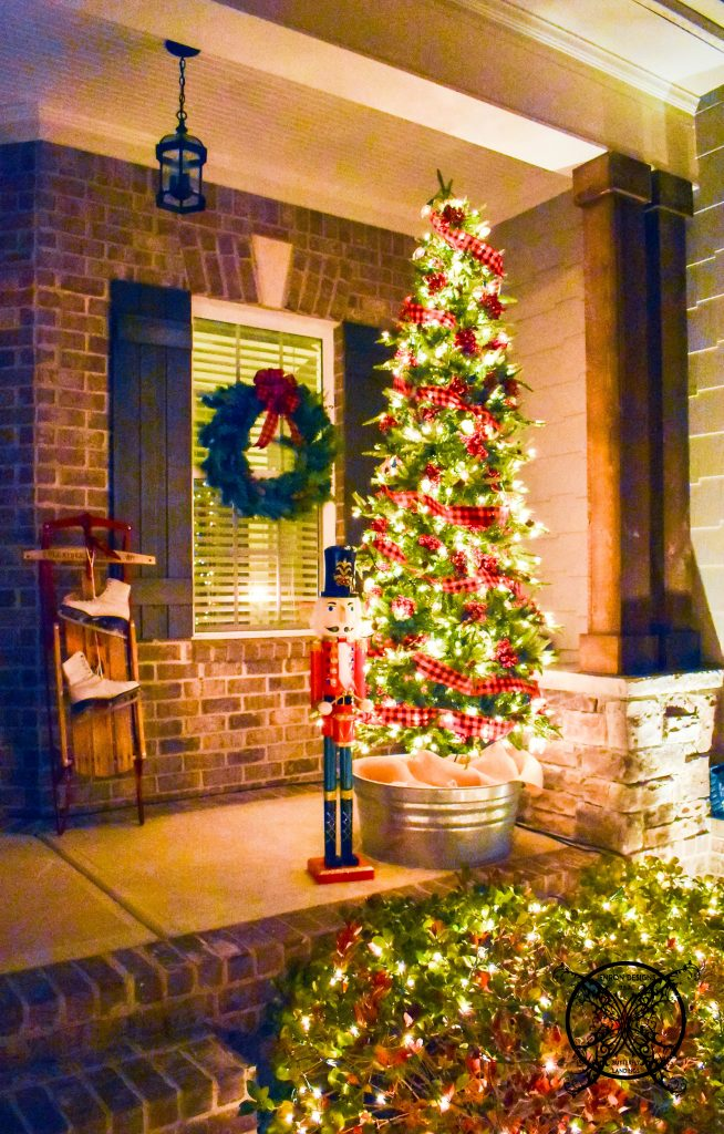 Home for The Holidays Porch LIghts Blog Hop JENRON DESIGNS
