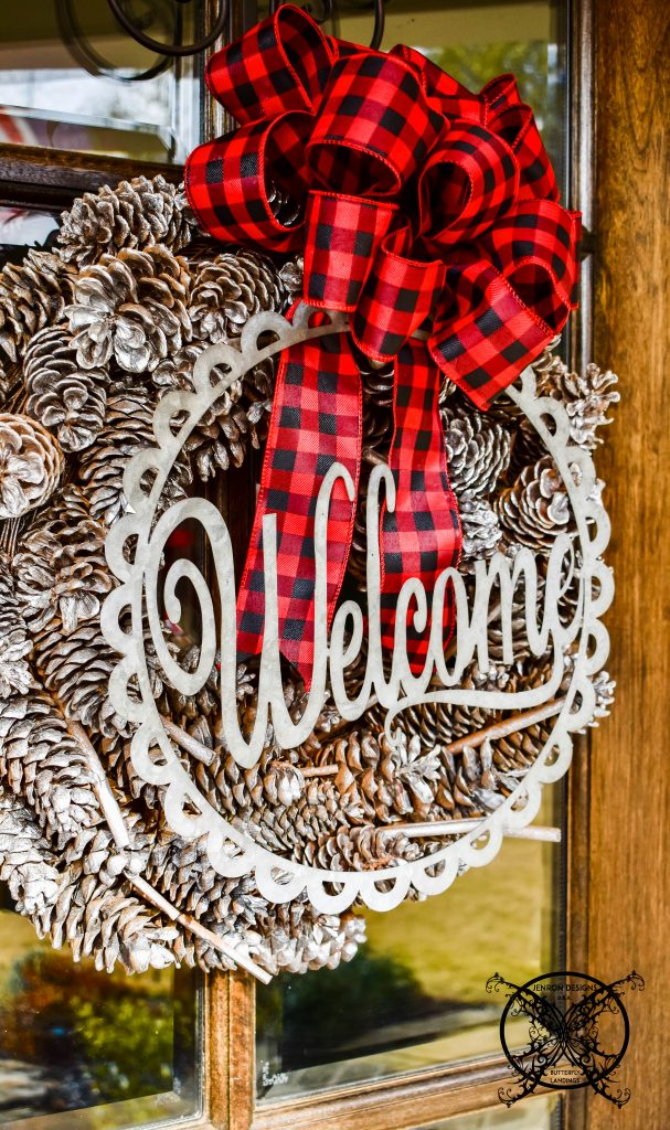 Home for The Holidays Wreath JENRON DESIGNS