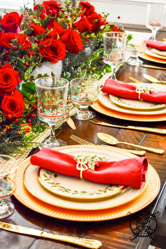 Lenox Holiday Table Blog Hop JENRON DESIGNS