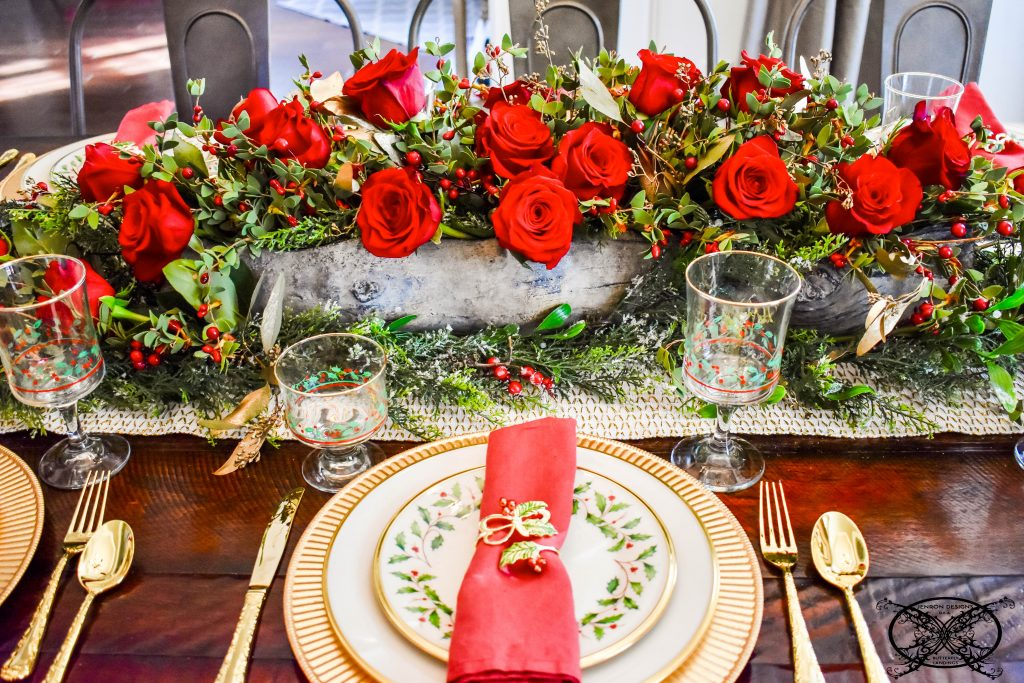 The Holiday Holly & Ivy Placesetting JENRON DESIGNS