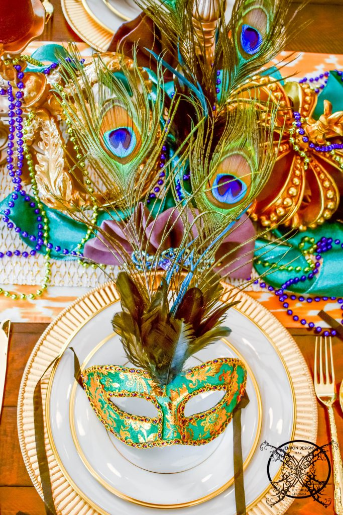 Mardi Gras Ladies seat JENRON DESIGNS