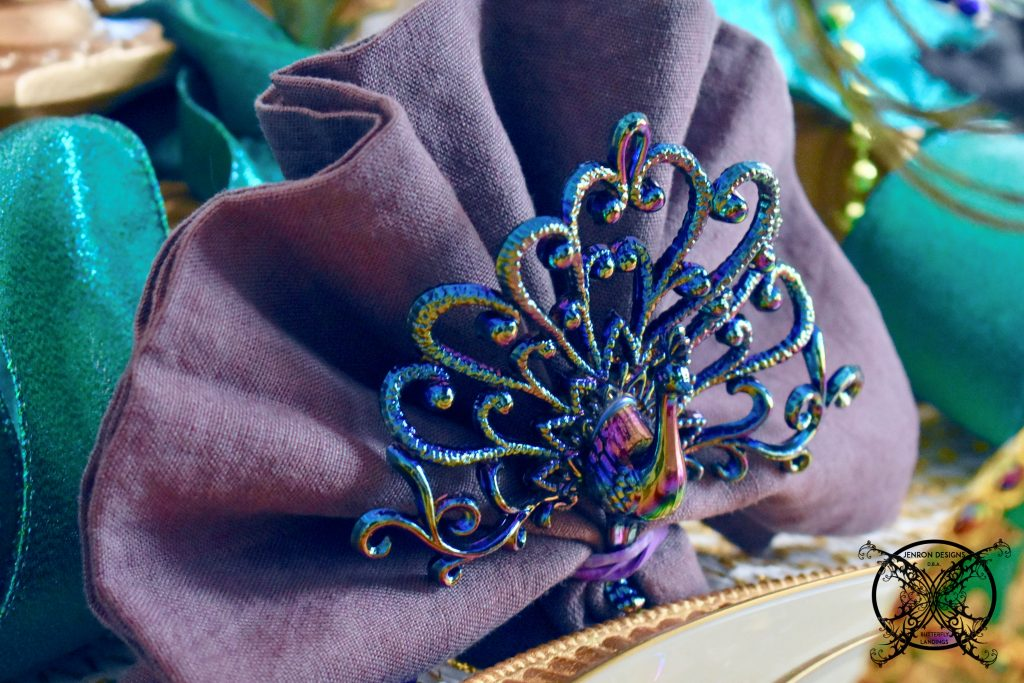 Mardi Gras Napkin Holders JENRON DESIGNS