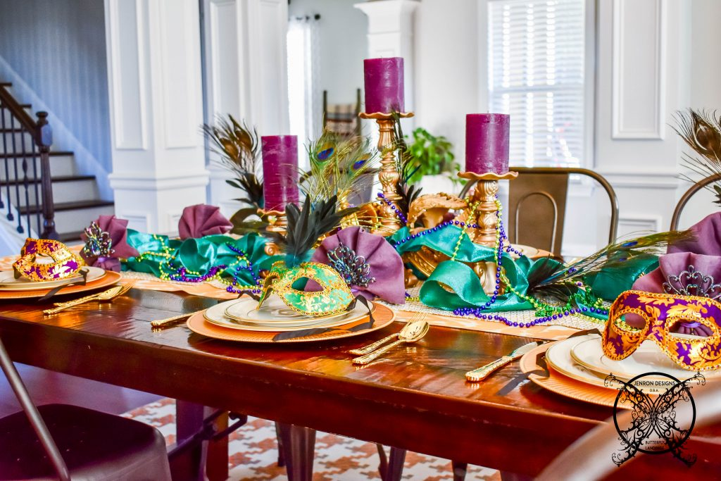 Mardi Gras Table JENRON DESIGNS