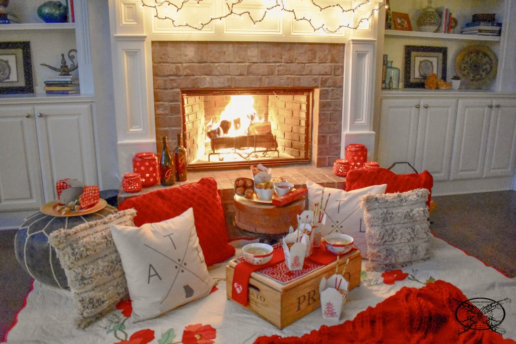 A Fireside Date Night Valentines JENRON DESIGNS