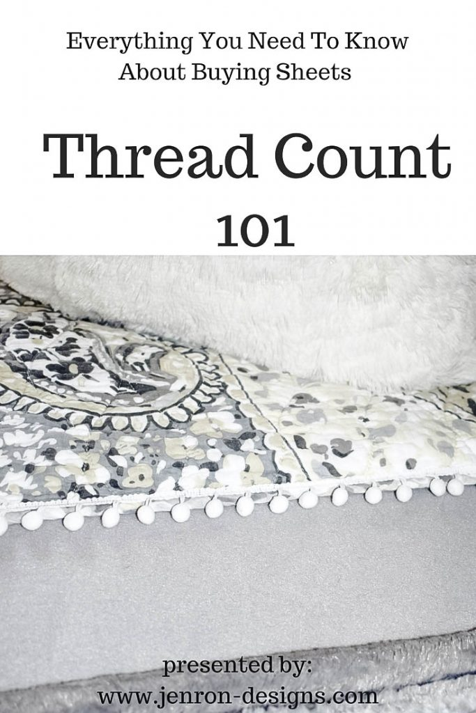 Thread Count 101 Jenron Designs