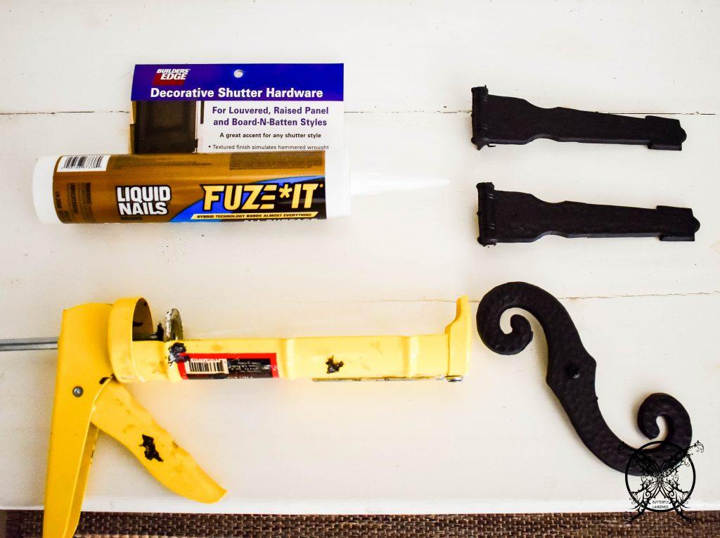 Carriage Hardware Kit & Glue JENRON DESIGNS