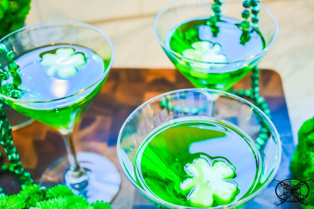 Easy Leprechaun Cocktails JENRON DESIGNS