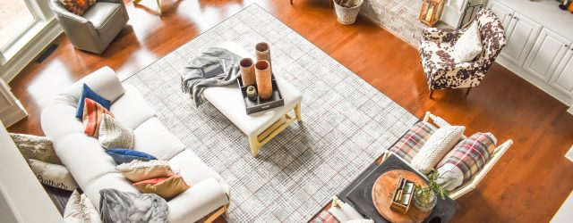 LIving Room Hygge Design JENRON DESIGNS