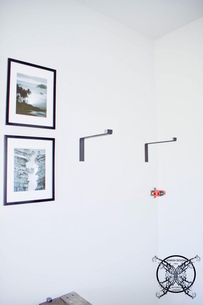 Office Adding Shelves JENRON DESIGNS