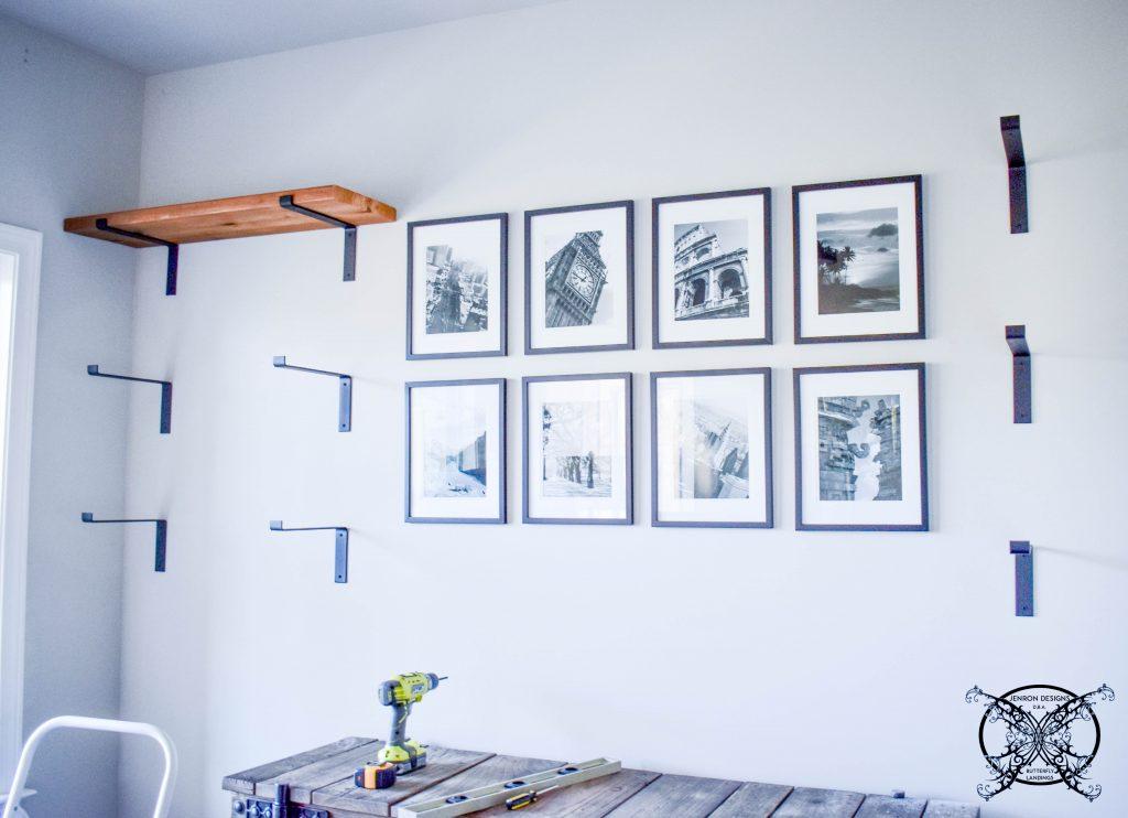 Office Hand Cut Cedar Shelves JENRON DESIGNS