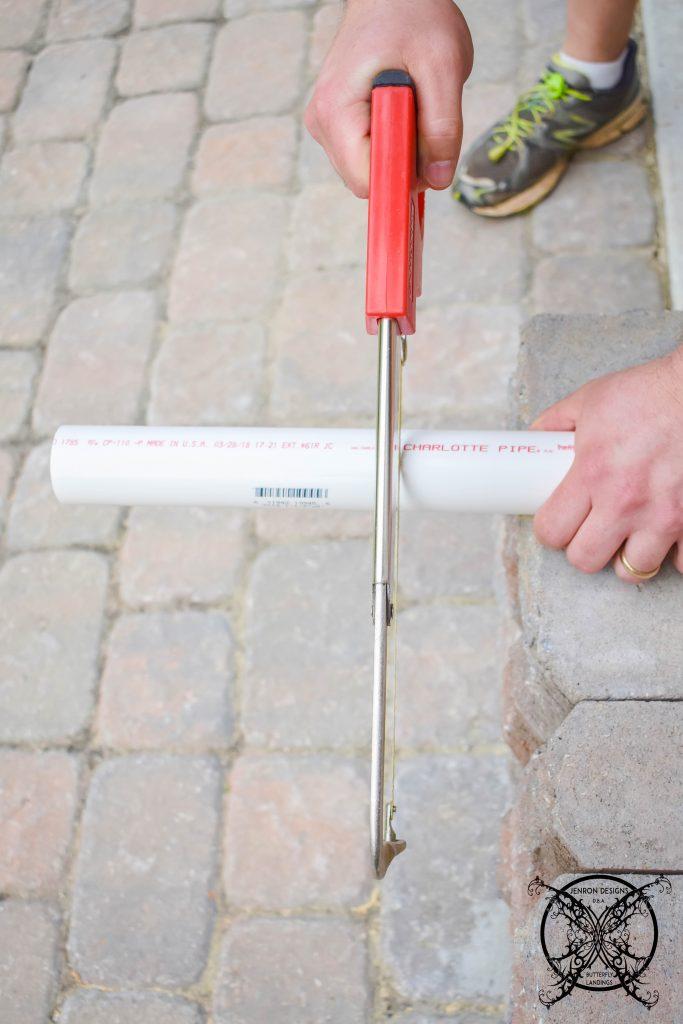 Cutting PVC JENRON DESIGNS