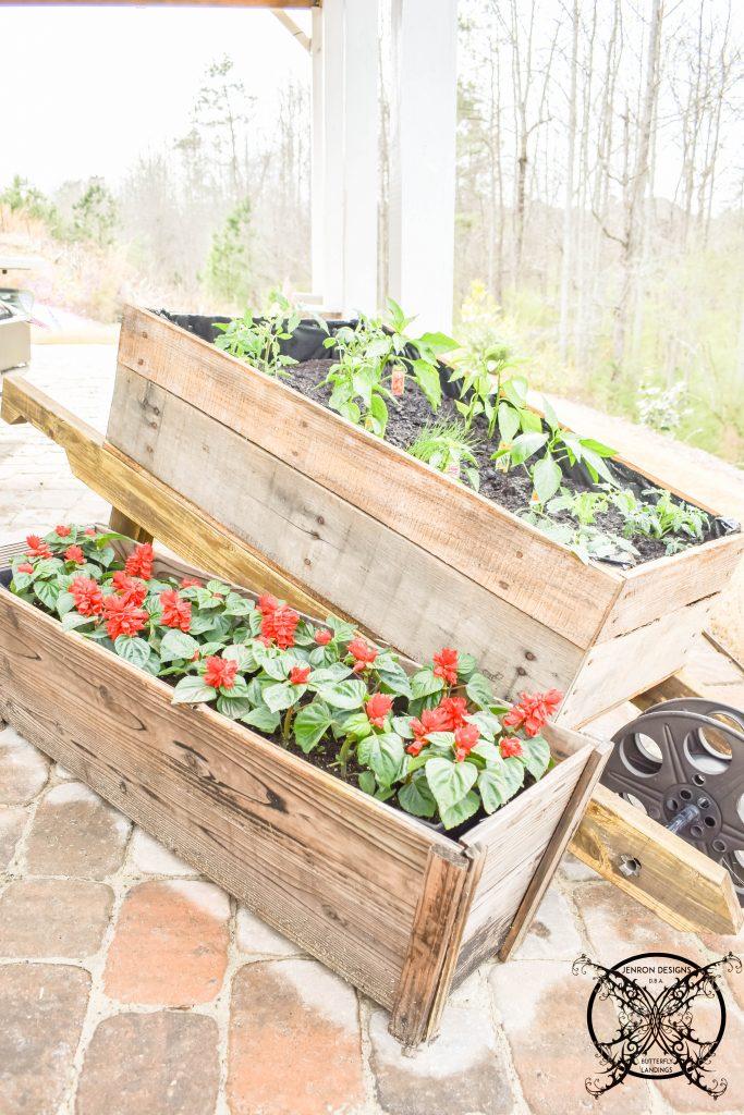 DIY Wheelbarrow Garden JENRON DESIGNS