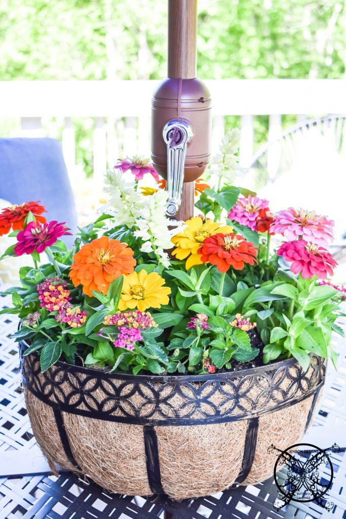 Flower Basket DIY JENRON DESIGNS