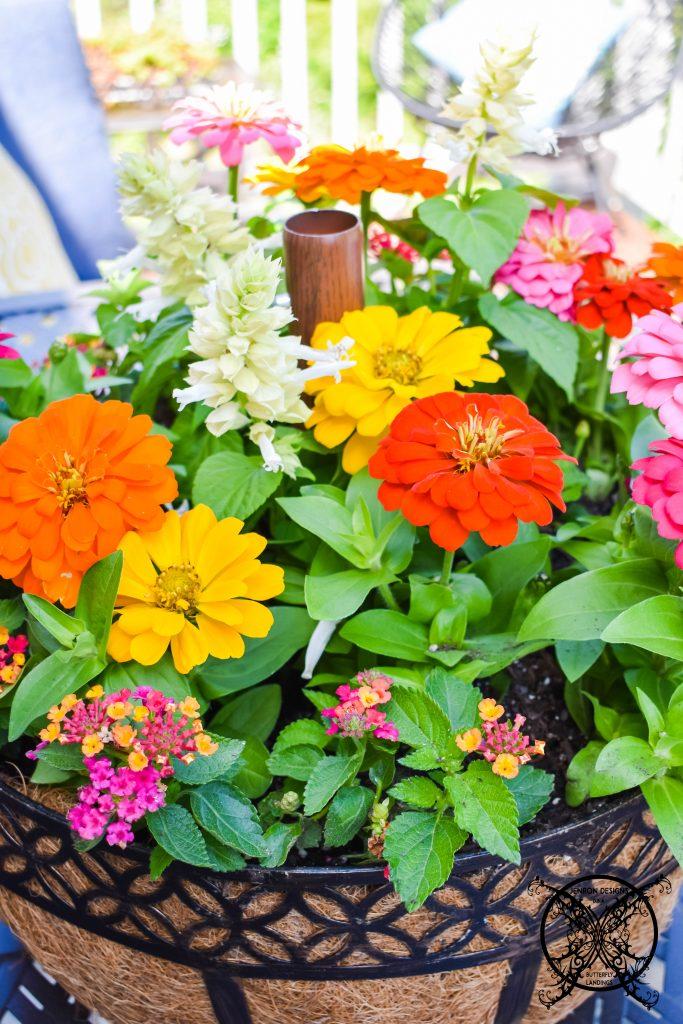 Flower Basket JENRON DESIGNS