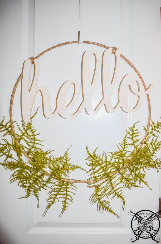Hoop Wreath JENRON DESIGNS