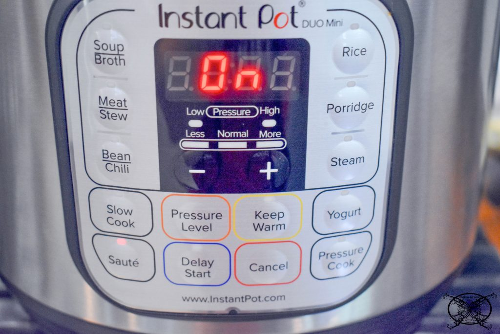 Instant Pot Settings JENRON DESIGNS
