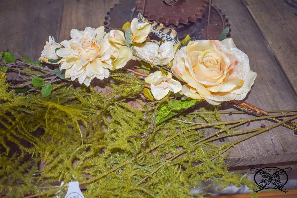 Silks to Make A Hoop Wreath JENRON DESIGNS