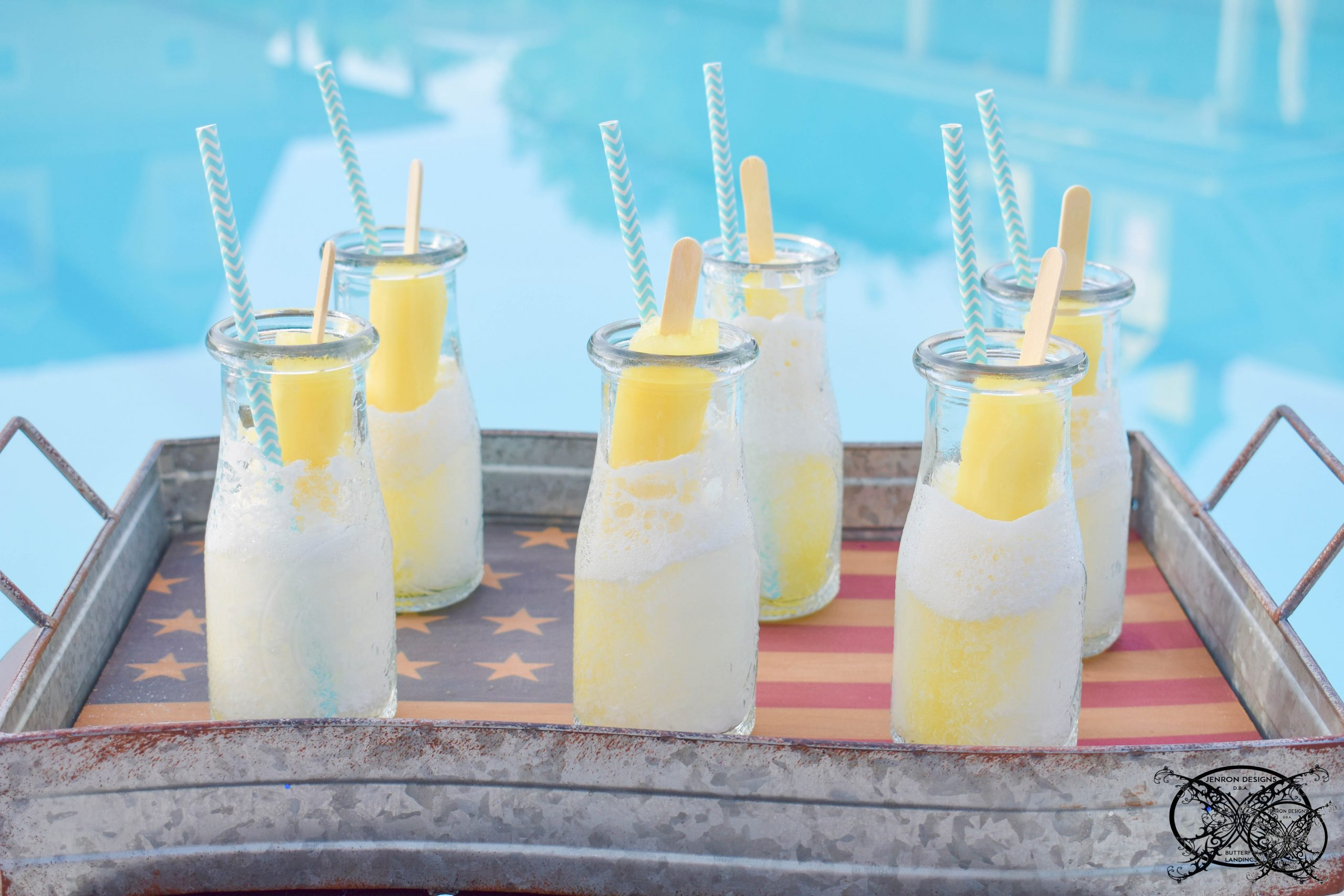 Banana Pudding Poptail Cocktails Picture 3