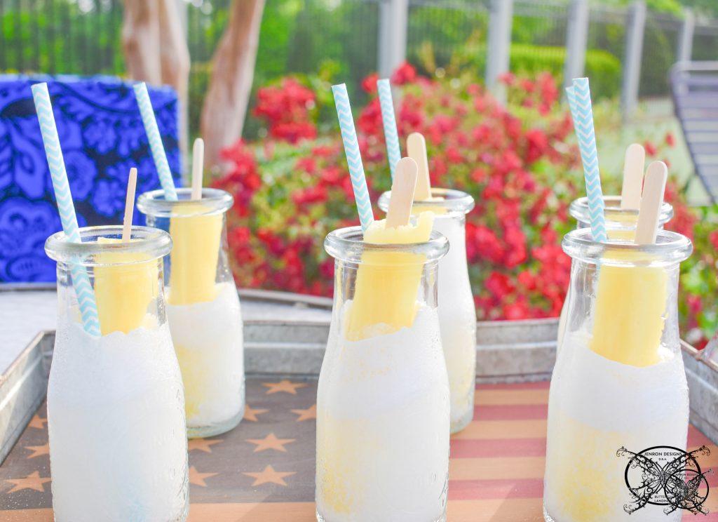 Banana Pudding Poptail Cocktails Picture JENRON DESIGNS