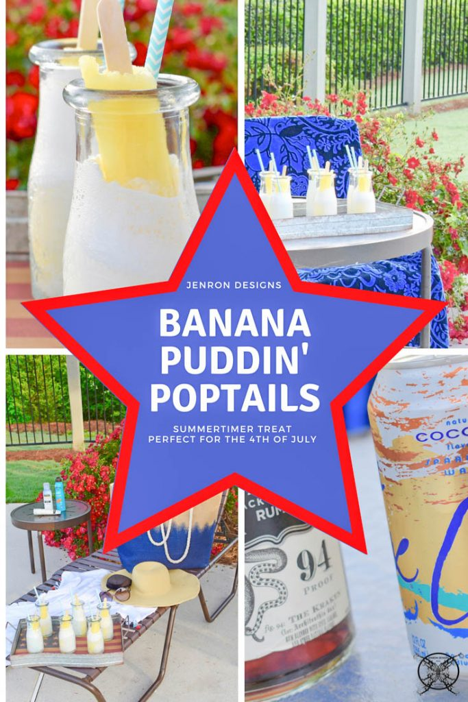 Banana Pudding Poptail Cocktails Pin JENRON DESIGNS