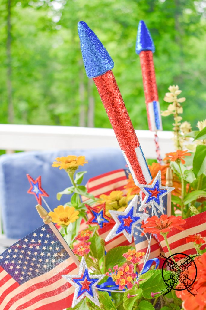 Centerpiece 4th of July JENRON DESIGNS