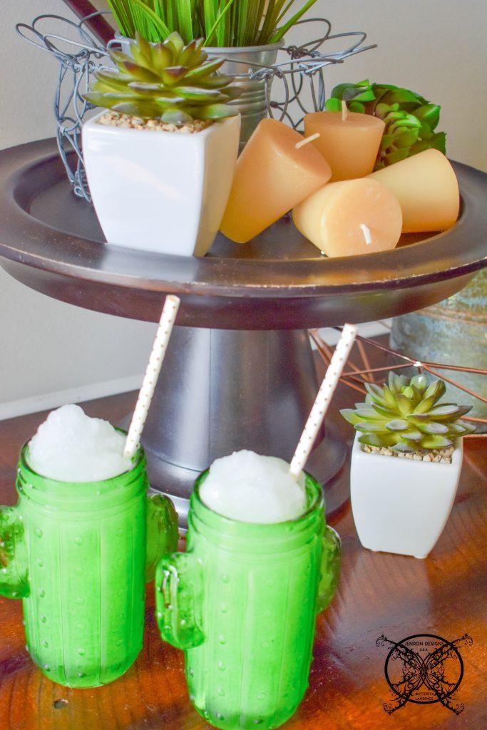 Cheers to Summer Aloe Margaritas JENRON DESIGNS