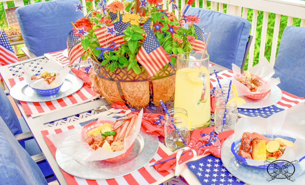 Dinner TIme 4th of July JENRON DESIGNS