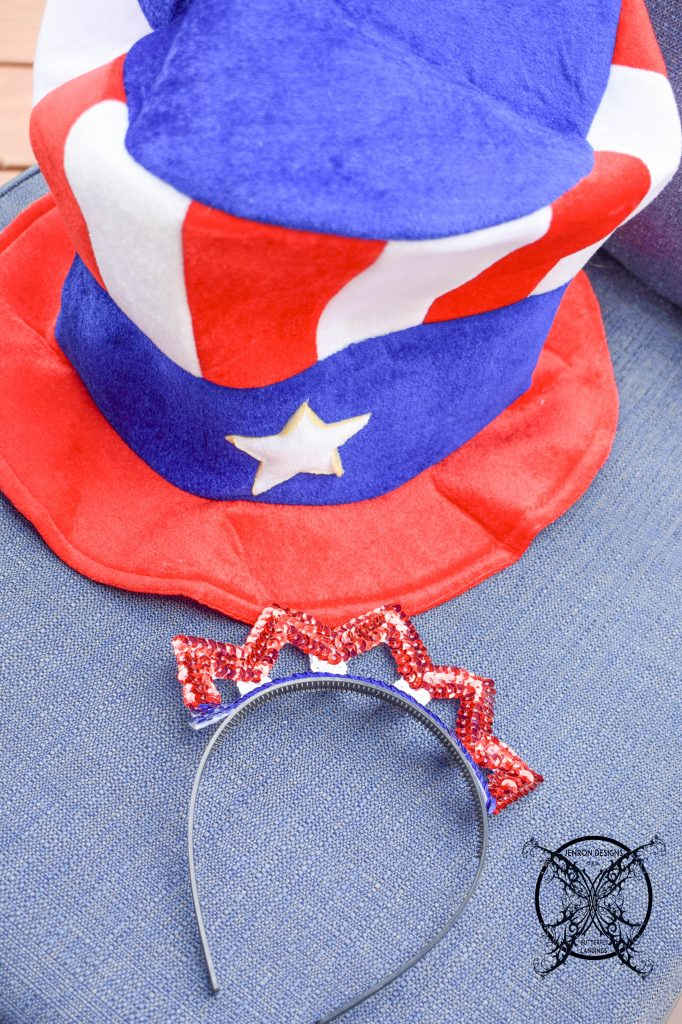 Funny Hats 4th of July JENRON DESIGNS