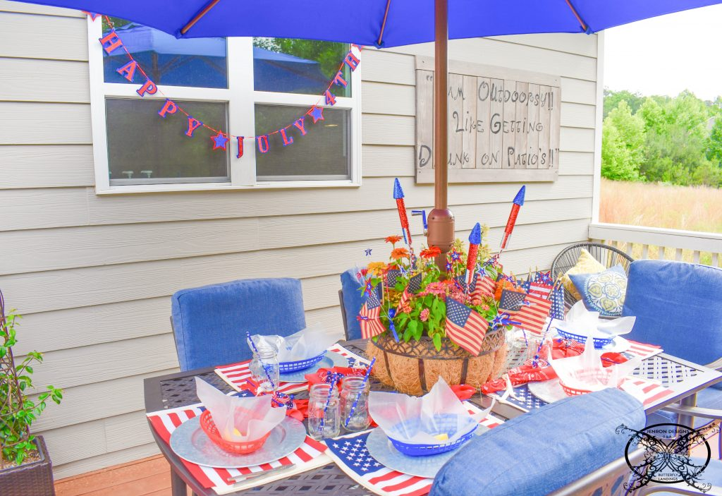 Patio 4th of July JENRON DESIGNS