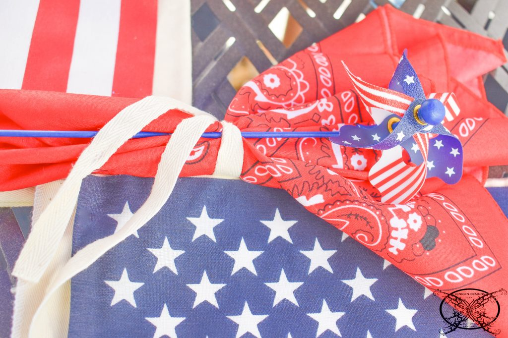 Placsetting 4th of July JENRON DESIGNS