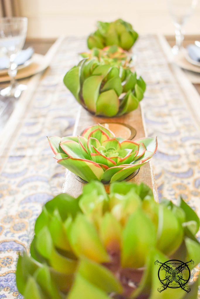 Succulents sugarmold JENRON DESIGNS