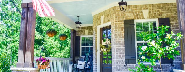 Adding Curb Appeal To Your Porch JENRON DESIGNS