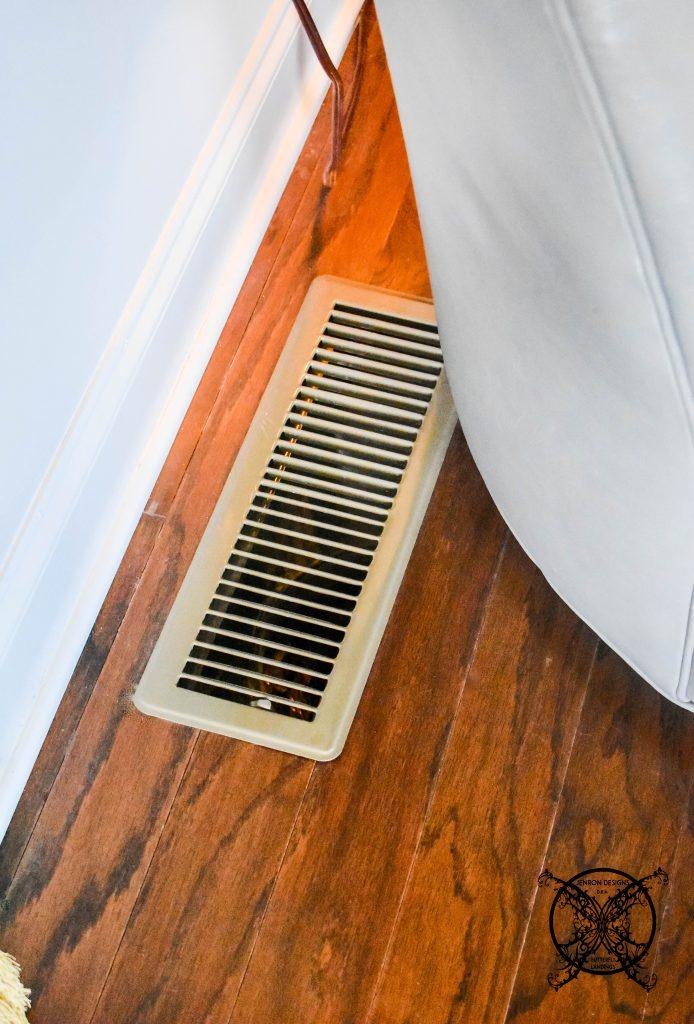 HVAC ugly vents JENRON DESIGNS