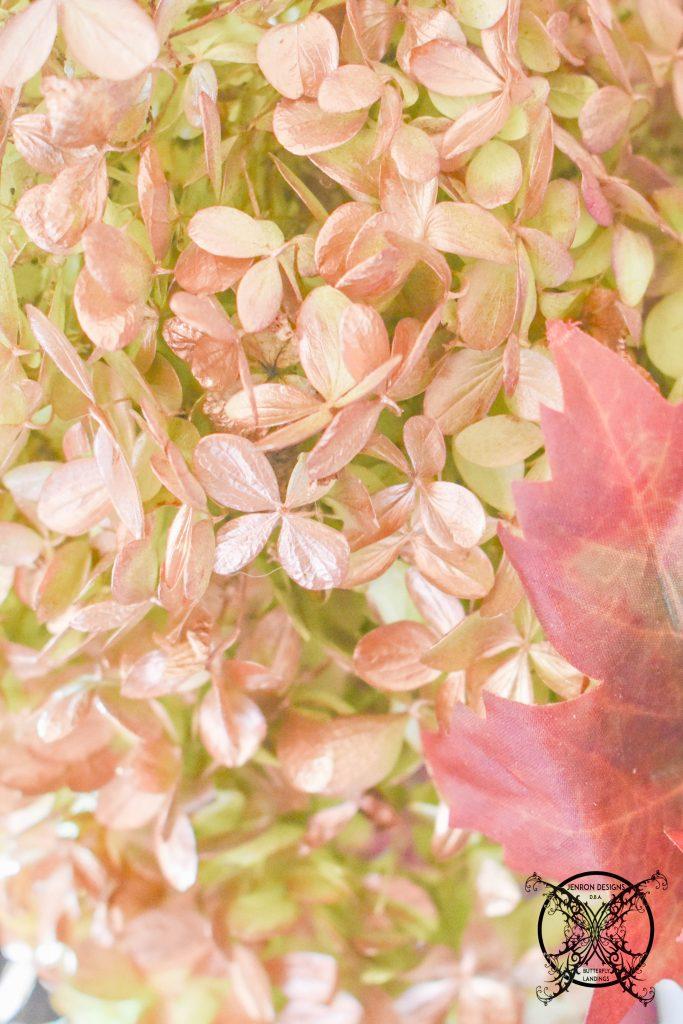 Drying Autumn Hydrangea JENRON DESIGNS