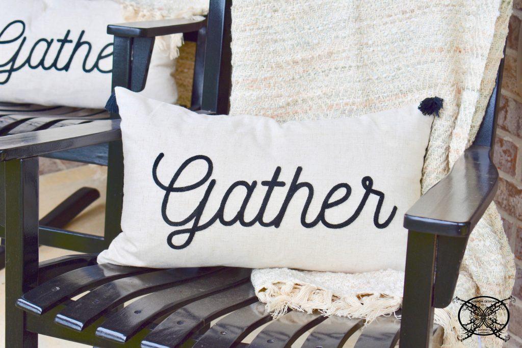 Gather Pillows JENRON DESIGNS
